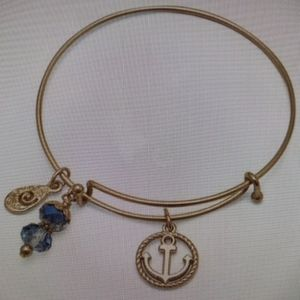 Jewelry - Expandable Gold Tone Nautical Charm Bracelet